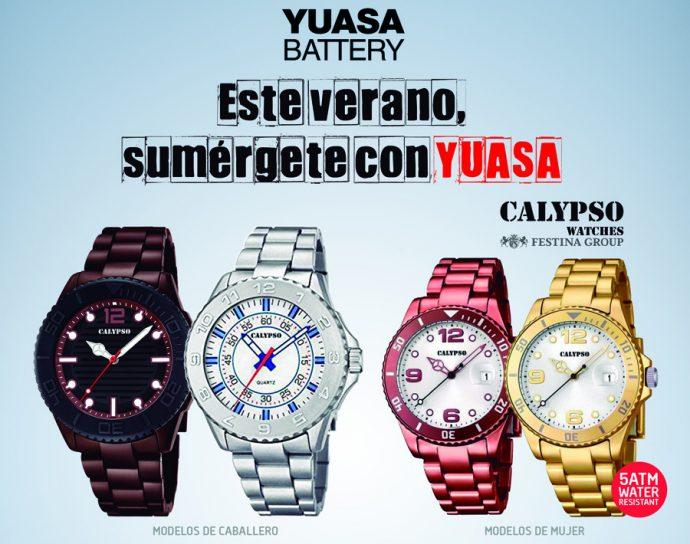 Yuasa relojes Calypso