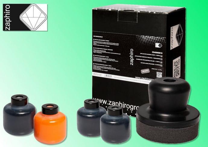 Zaphiro kit de guía de lijado en polvo