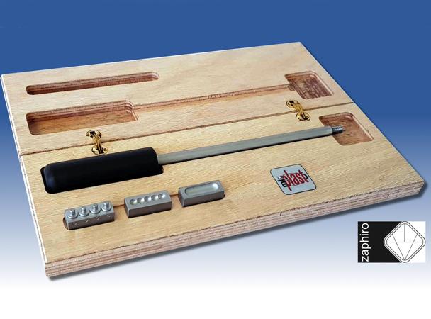 zaphiro kit punzón para soldaduras de plásticos