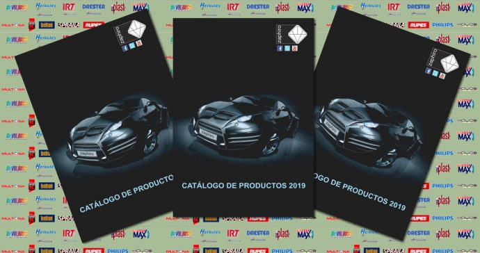 Zaphiro nuevo Catálogo 2019 para talleres