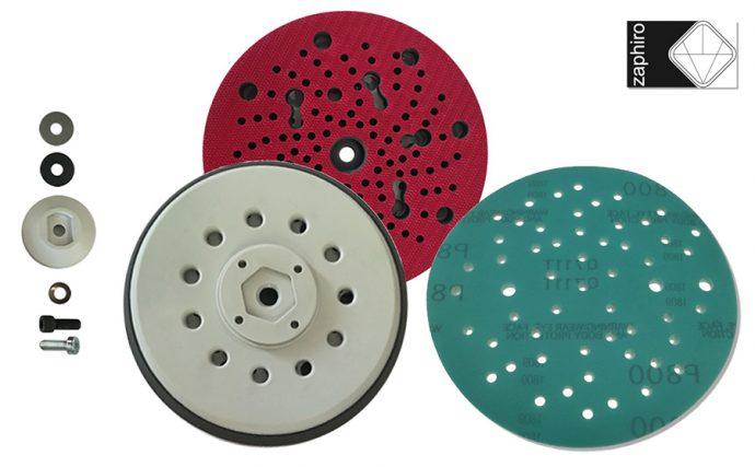 Zaphiro nuevos discos de lijado y platos multiperforados