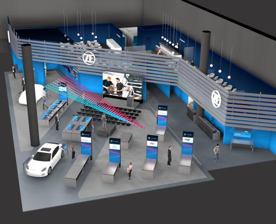 ZF Aftermarket en Automechanika Frankfurt 2018
