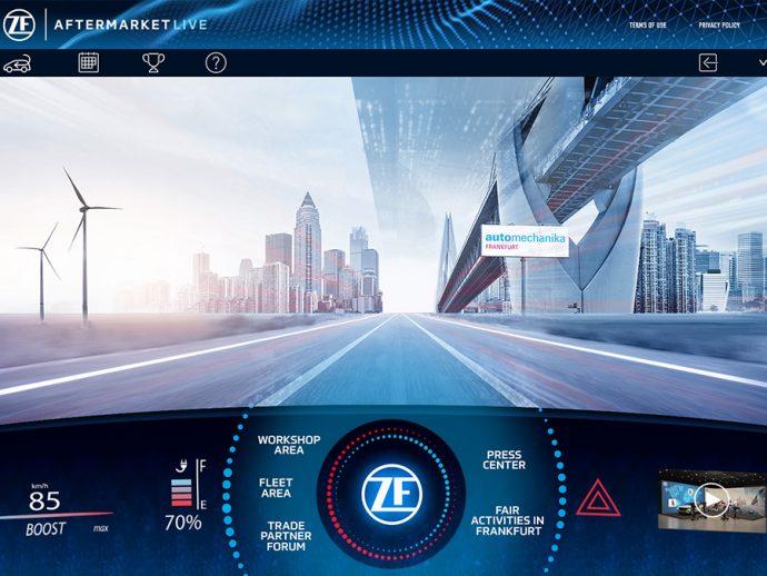 ZF Aftermarket Live participación en Automechanika Frankfurt 2021