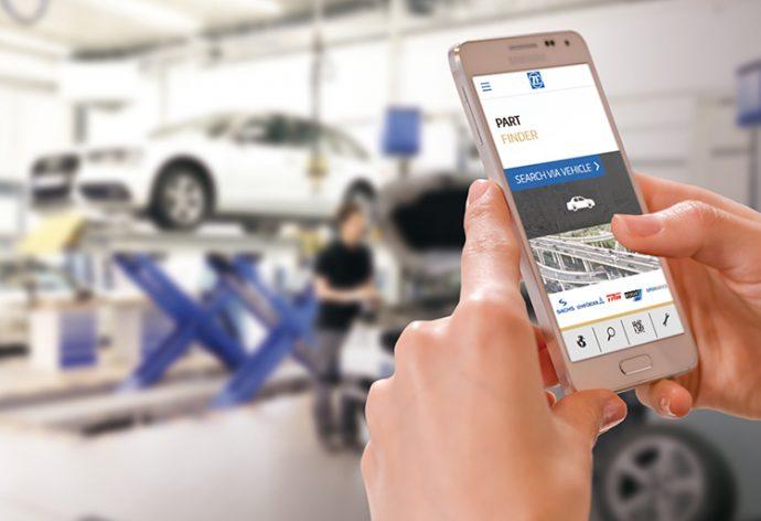 nueva App de ZF Aftermarket
